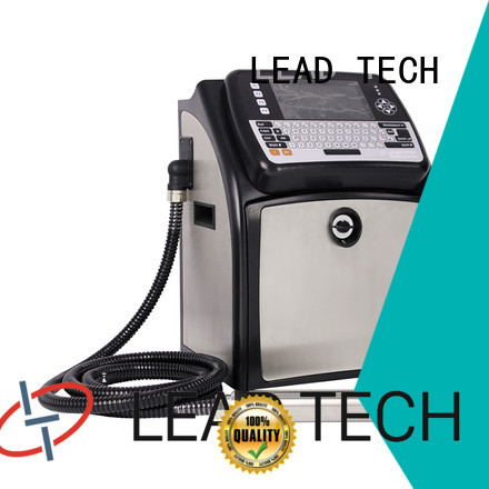 LEAD TECH inkjet batch coding machine professtional from best fatcory
