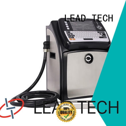 LEAD TECH high-quality best continuous ink printer high-performance from best fatcory