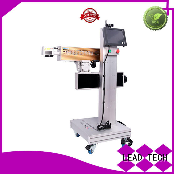LEAD TECH aluminum structure batch coding machine high-performance for sale
