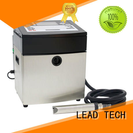 LEAD TECH dust-proof inkjet batch coding machine professtional from best fatcory