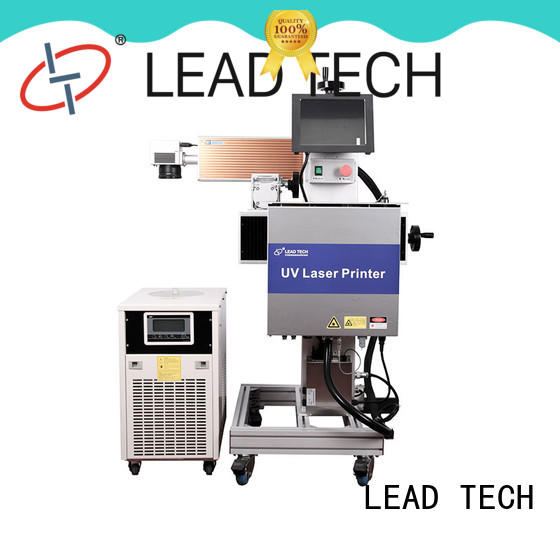 LEAD TECH laser marking machine easy-operated