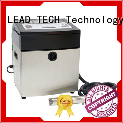 LEAD TECH inkjet printing machine good heat dissipation cooling structure