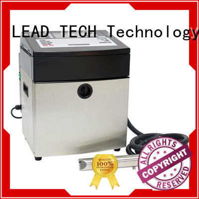 LEAD TECH inkjet batch coding machine fast-speed at discount