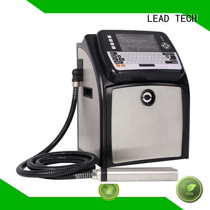 LEAD TECH inkjet date code printer professtional cooling structure