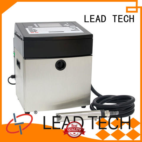 LEAD TECH innovative inkjet coding machine easy-operated from best fatcory