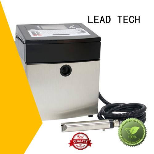 LEAD TECH bulk commercial inkjet printer high-performance aluminum structure