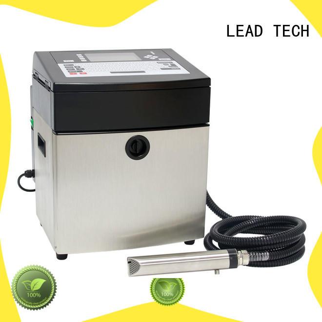 LEAD TECH dust-proof inkjet batch coding machine OEM reasonable price