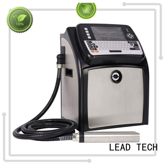 LEAD TECH hot-sale inkjet printer for batch coding at discount
