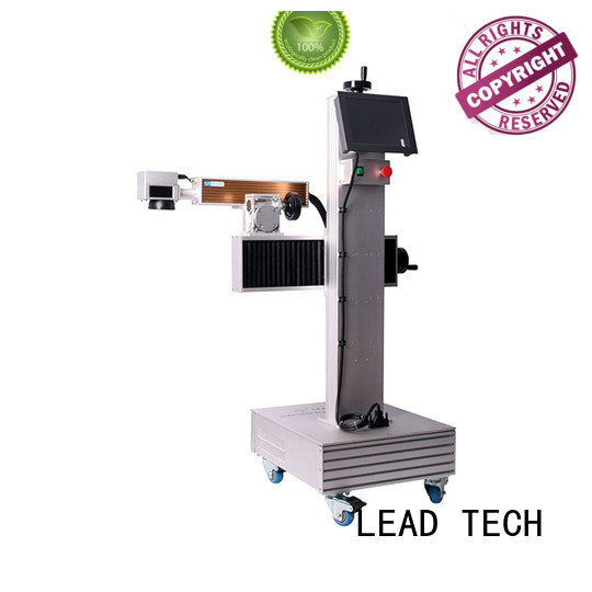 LEAD TECH aluminum structure batch coding machine easy-operated