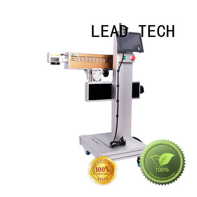 LEAD TECH aluminum structure laser etching printer high-performance best price