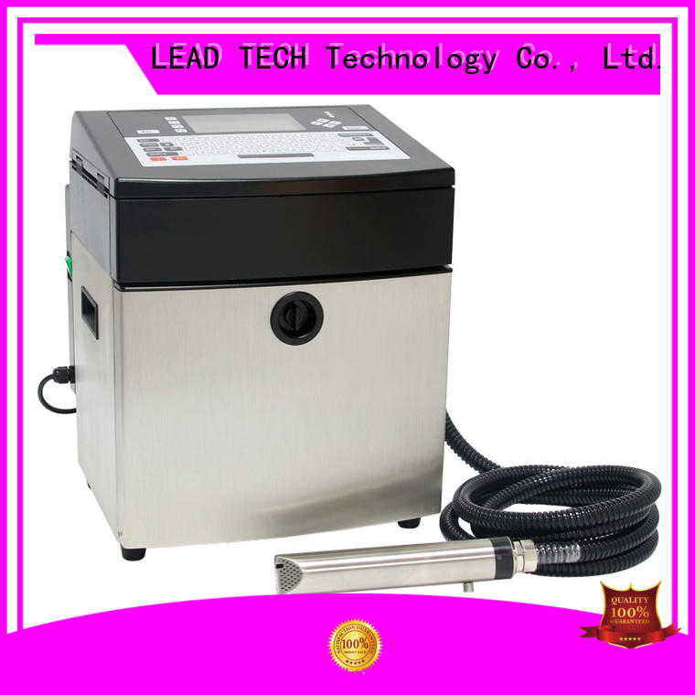 LEAD TECH dust-proof industrial printer manufacturers professtional for pipe printing