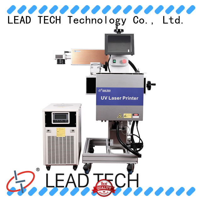 LEAD TECH aluminum structure coding printer easy-operated