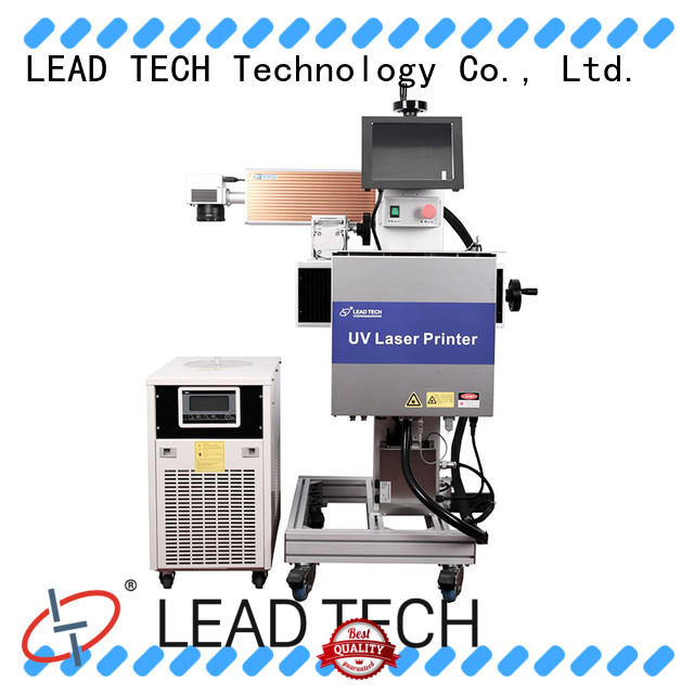 LEAD TECH laser printing machine easy-operated