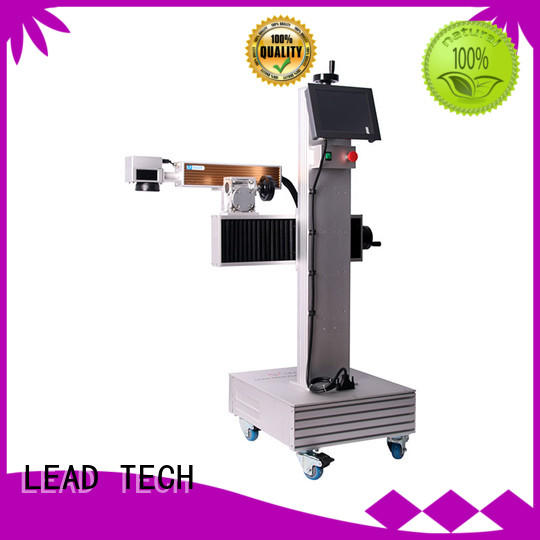 LEAD TECH comprehensive laser marking machine easy-operated best price