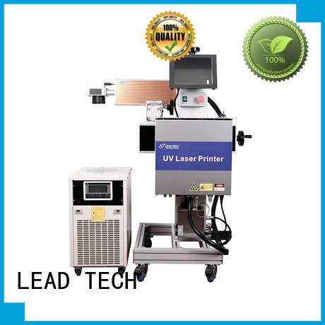 LEAD TECH laser marking machine fast-speed for sale