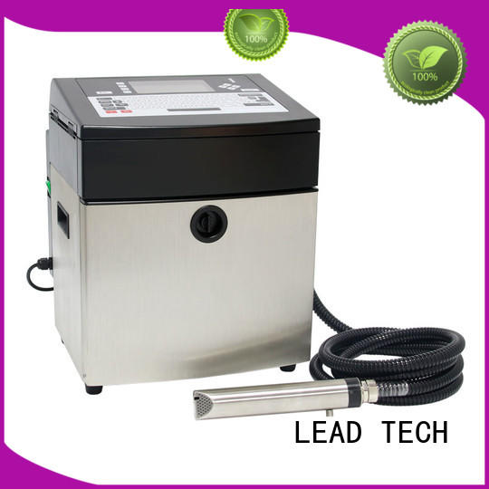 LEAD TECH inkjet printer cost for pipe printing