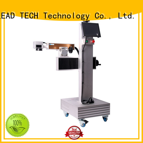 LEAD TECH dustproof laser etching printer high-performance for sale