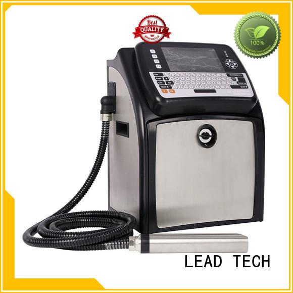 LEAD TECH innovative inkjet coding machine good heat dissipation at discount