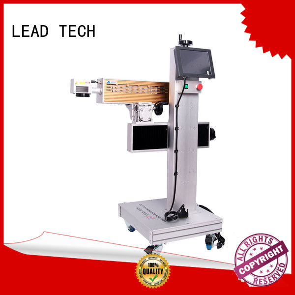 LEAD TECH dustproof batch code printer fast-speed for sale