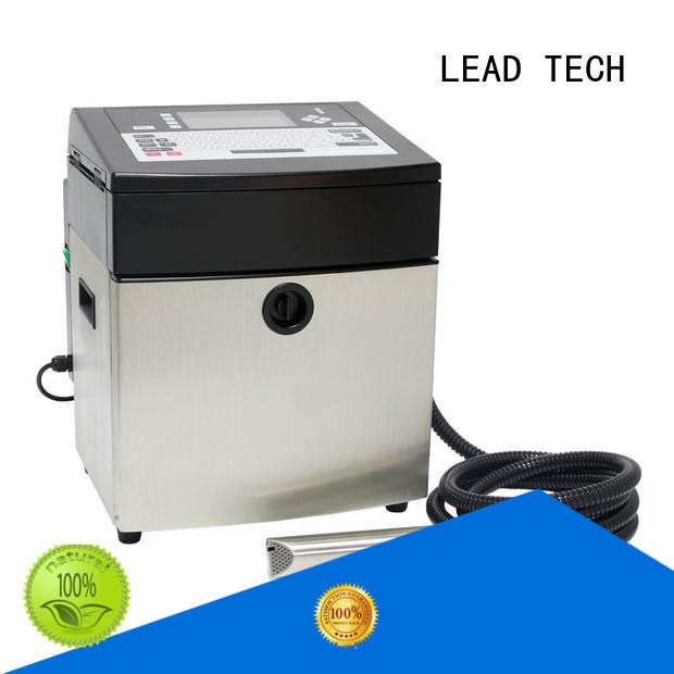 LEAD TECH cij inkjet printer cooling structure