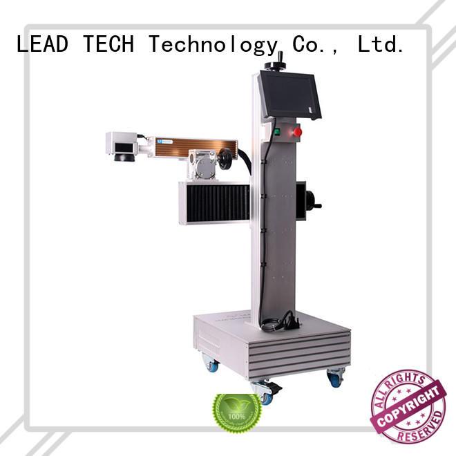 LEAD TECH dustproof laser marking machine high-performance at discount