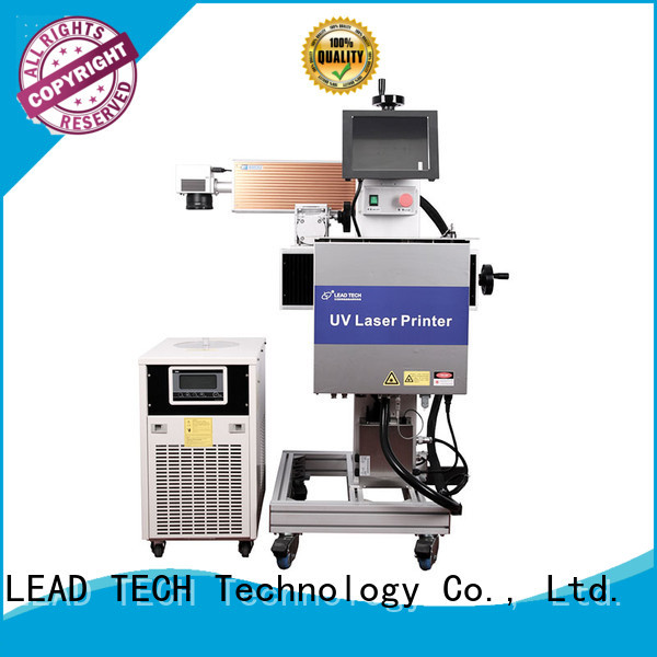 LEAD TECH commercial laser printing machine easy-operated at discount