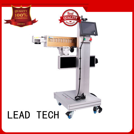 aluminum structure 3d laser etching machine high-performance for food industry printing