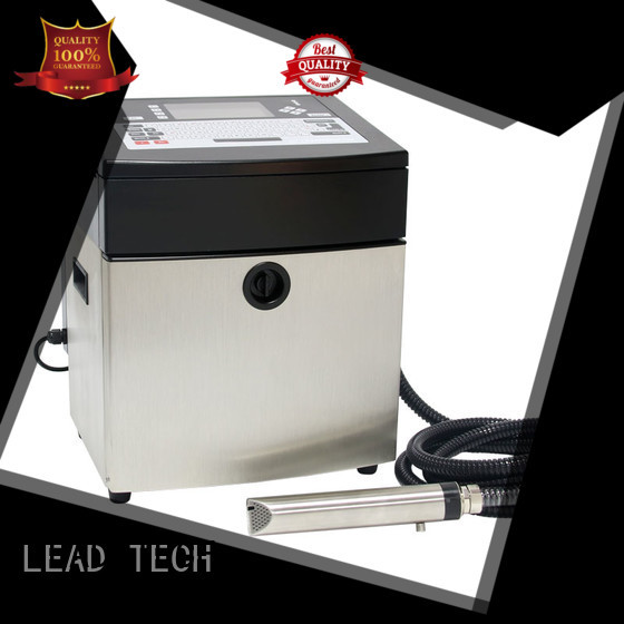LEAD TECH commercial best continuous ink printer fast-speed from best fatcory