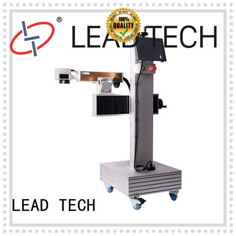 LEAD TECH commercial laser coding printer for sale