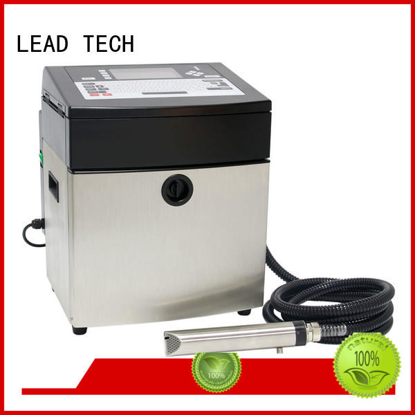 industrial jet printer cooling structure LEAD TECH