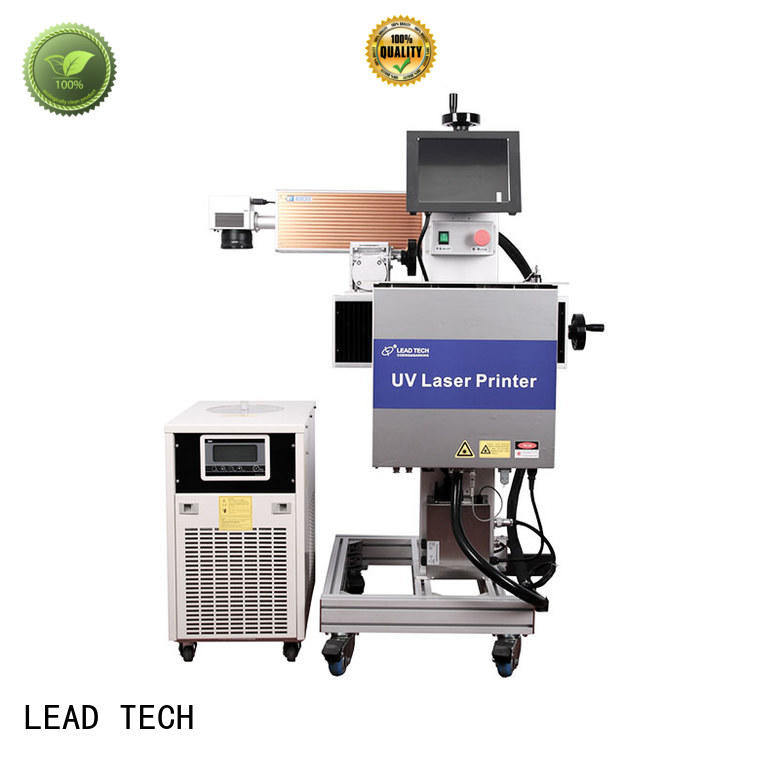 LEAD TECH comprehensive batch coding machine easy-operated for sale