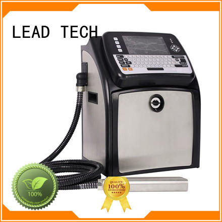LEAD TECH inkjet coding printer custom aluminum structure