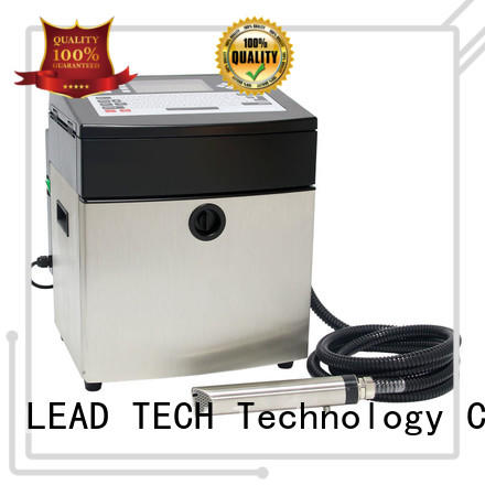 LEAD TECH bulk inkjet coding printer OEM best workmanship