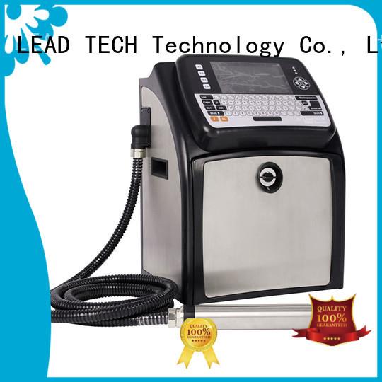 LEAD TECH inkjet coding machine OEM reasonable price