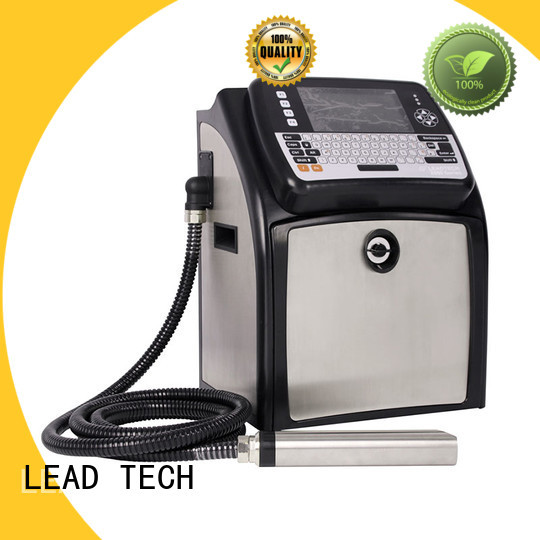 LEAD TECH commercial inkjet coder professtional cooling structure