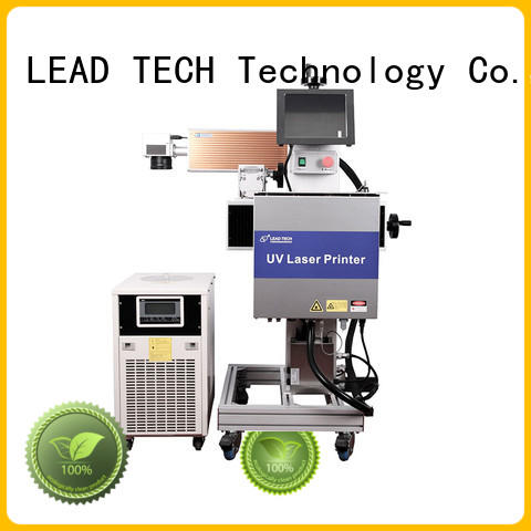 LEAD TECH laser printing machine easy-operated for sale