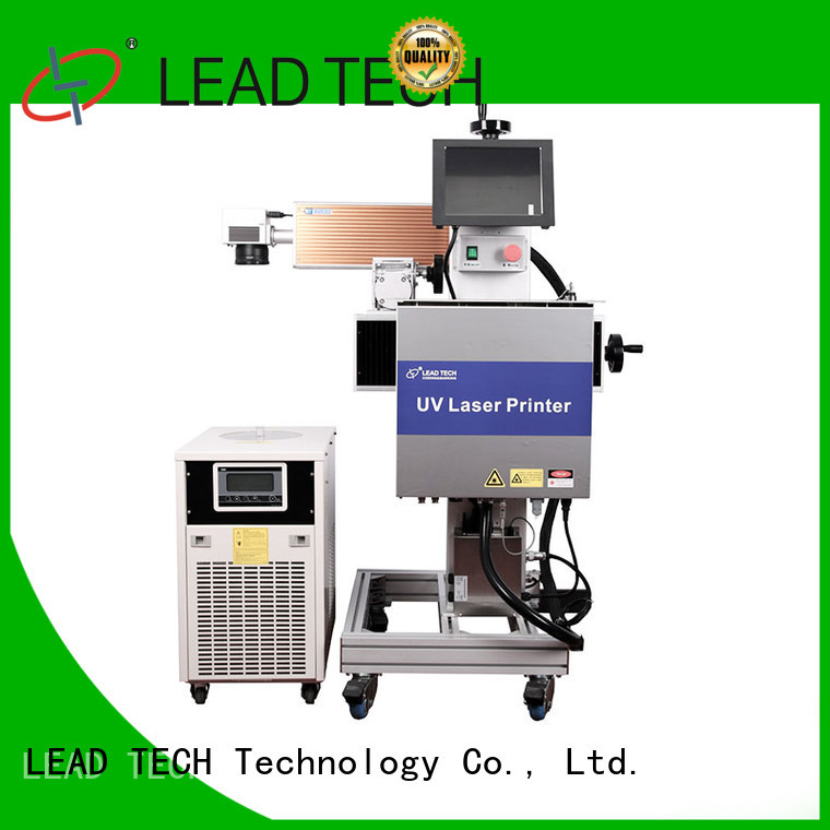 LEAD TECH dustproof batch coding machine easy-operated at discount