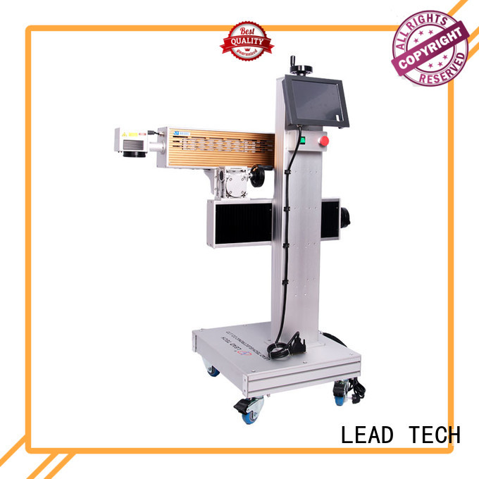 LEAD TECH dustproof laser batch coding machine