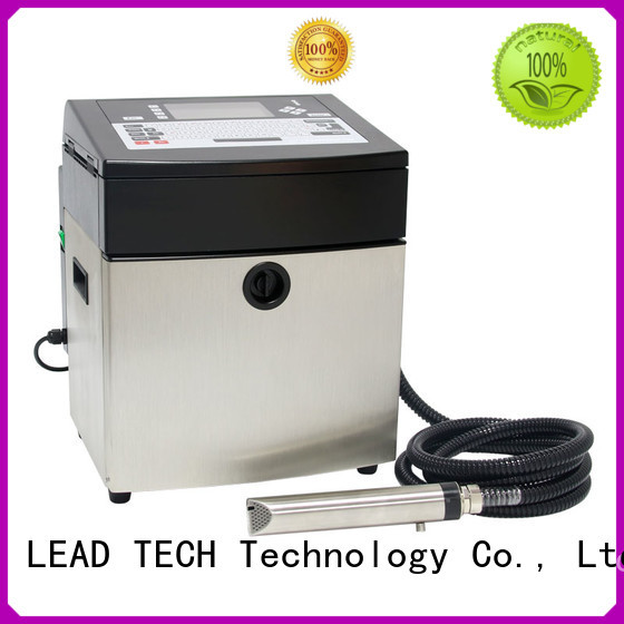 bulk inkjet barcode printer professtional at discount LEAD TECH