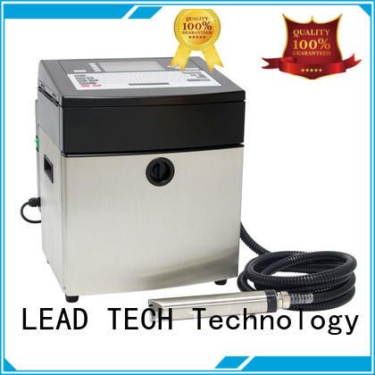 continuous inkjet printer reasonable price LEAD TECH