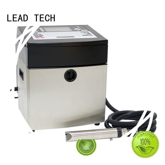 LEAD TECH Custom printer inkjet adalah factory for tobacco industry printing