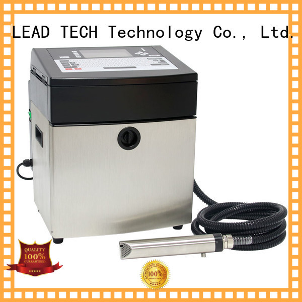 LEAD TECH bulk commercial inkjet printer professtional aluminum structure