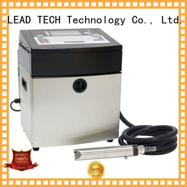 LEAD TECH bulk commercial inkjet printer professtional aluminum structure